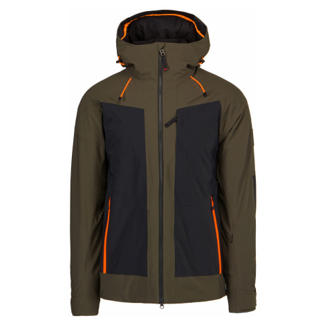 Lyžařská bunda Bogner BRODY-T hnědá zelená