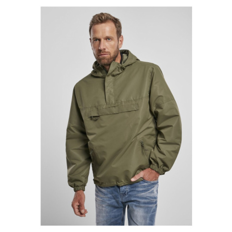 Summer Pull Over Jacket - olive Urban Classics