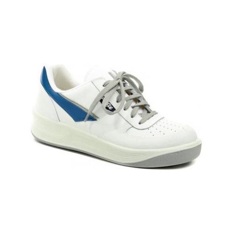 Prestige M86808 bílá pracovní obuv Bílá
