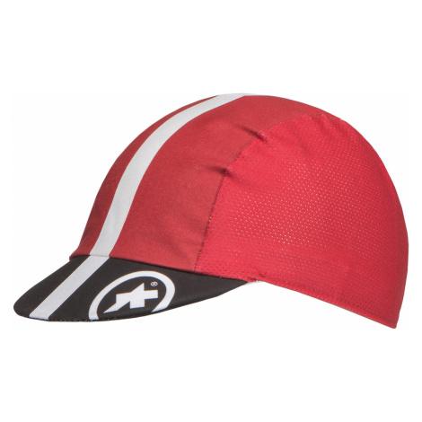 Cyklistická čepice Assos FASTLANE SUMMER CAP červená
