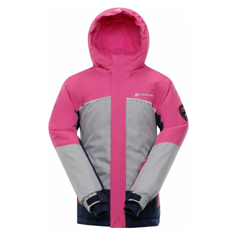 Dětská bunda Alpine Pro SARDARO 2 - růžová