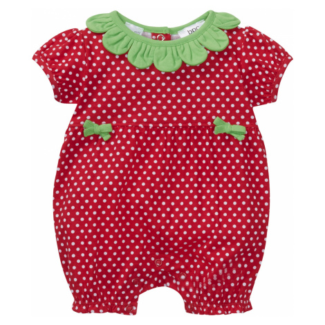 Dětský overal s krátkým rukávem z organické bavlny Bonprix