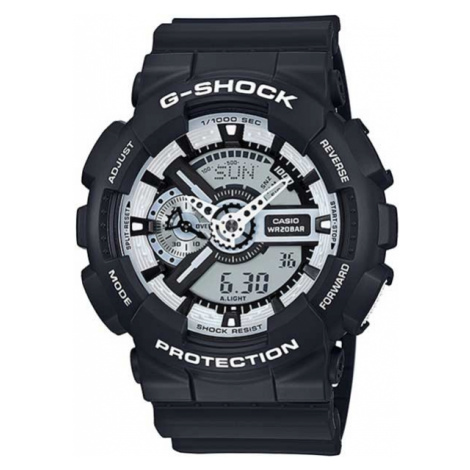 Casio G-Shock GA 110BW-1A (411)