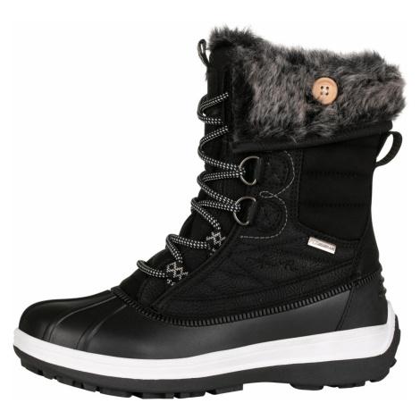 ALPINE PRO PELICANA Dámská zimní obuv LBTP218990 černá