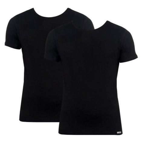 2PACK pánské tričko Styx černé (TR960)