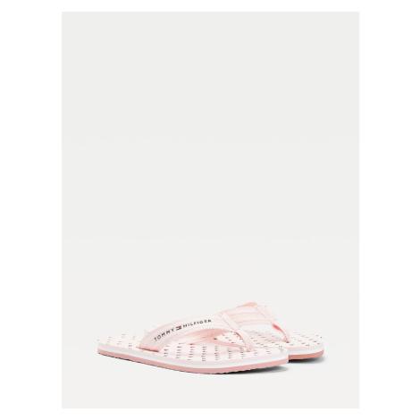 Tommy Hilfiger dámské růžové žabky