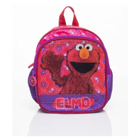 Fialový školní batoh s motivem sesame street BASIC