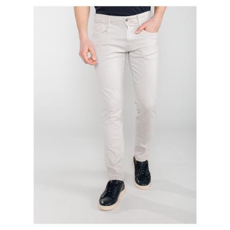 Anbass Jeans Replay Bílá
