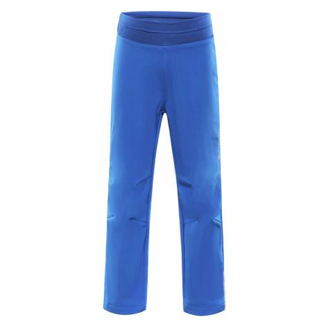 ALPINE PRO OCIO INS. Dětské softshellové kalhoty KPAP072682 nautical blue