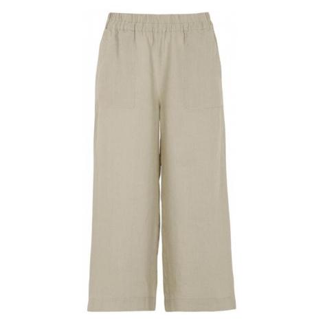 Lněné kalhoty culotte Cellbes
