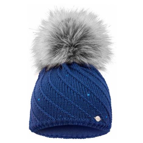 Zimní čepice Relax MINA - modrá