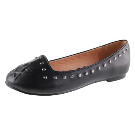 boty dámské (baleríny) BANNED - BND229BLK