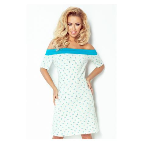 Dámské šaty Numoco 100-1 | krémová