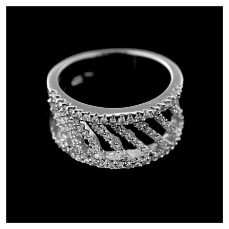 Stříbrný prsten 15220
