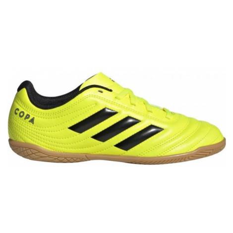 adidas COPA 19.4IN J žlutá - Dětské sálovky
