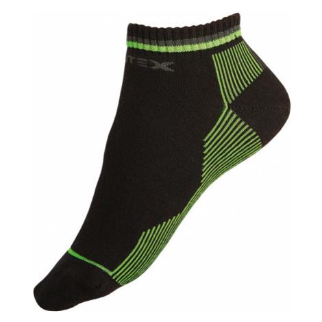 LITEX Sportovní ponožky polovysoké. 99637602 reflexně zelená