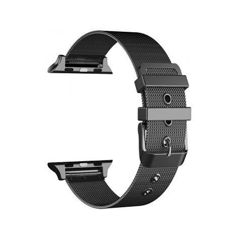 Eternico Apple Watch 42mm / 44mm Mesh Metal Band černý