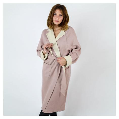 Růžový kabát Virada Vila