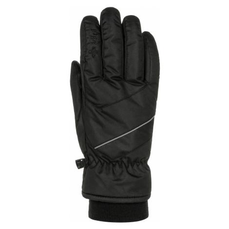 KILPI Unisex lyžařské rukavice TATA-U NU0020KIBLK Černá