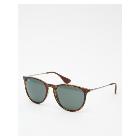 Ray-Ban round Erika sunglasses 0rb4171-Brown
