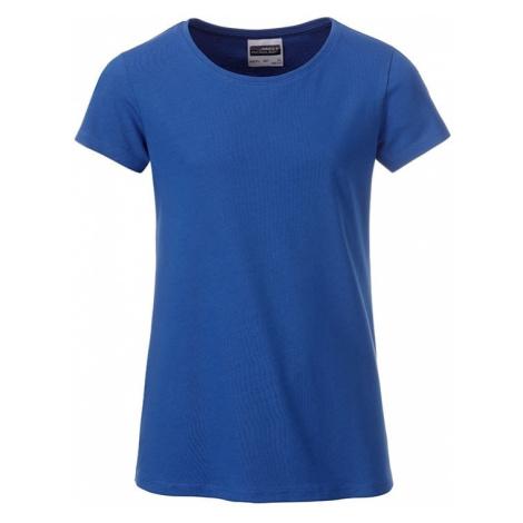 James & Nicholson Klasické dívčí tričko z biobavlny 8007G