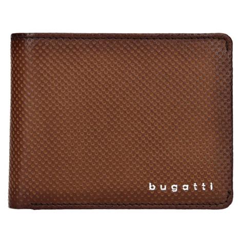 Pánská kožená peněženka Bugatti Filipo - hnědá