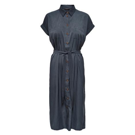 ONLY Košilové šaty 'HANNOVER' modrá