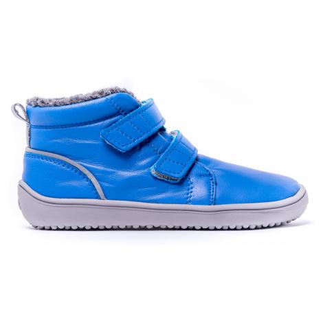 Dětské zimní barefoot boty Be Lenka Penguin - Blue 35