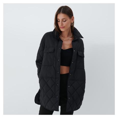 Mohito - Prošívaná bunda oversized - Černý