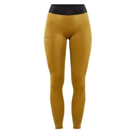Dámské kalhoty CRAFT ADV Core Essence žlutá