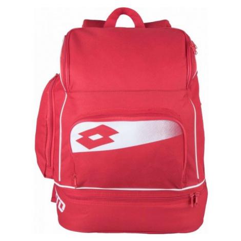 Lotto BKPK SOCCER OMEGA II červená NS - Sportovní batoh