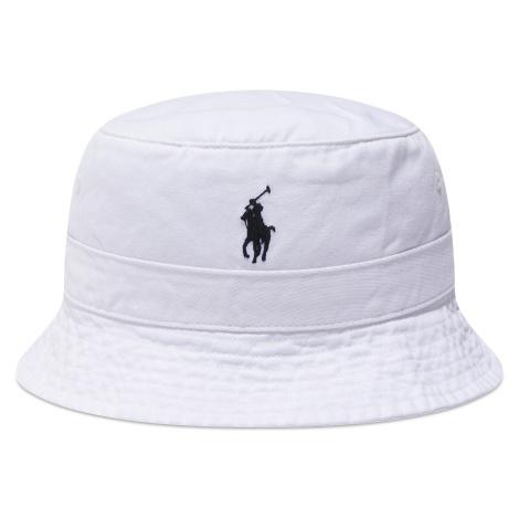 Klobouk bucket hat POLO RALPH LAUREN - Loft 710798567001 White