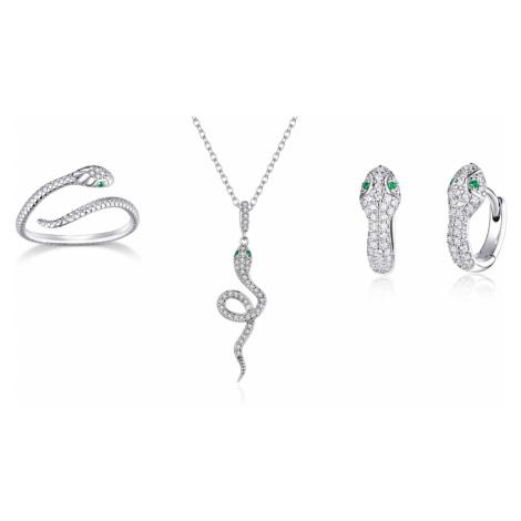 Linda's Jewelry Zvýhodněná sada šperků Královna Hadů Ag 925/1000 IS050