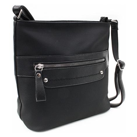 Černá moderní dámská crossbody kabelka Dolanna Tapple