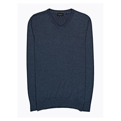 GATE Jednoduchý svetr s véčkovým výstřihem