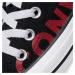 Plátěnky CONVERSE - Ctas Ox 165430C Black/Enamel Red/White