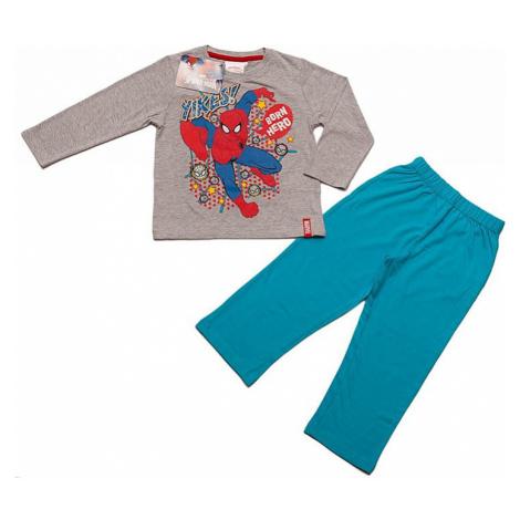 Spiderman šedo-modré pyžamo ii. Spider-Man