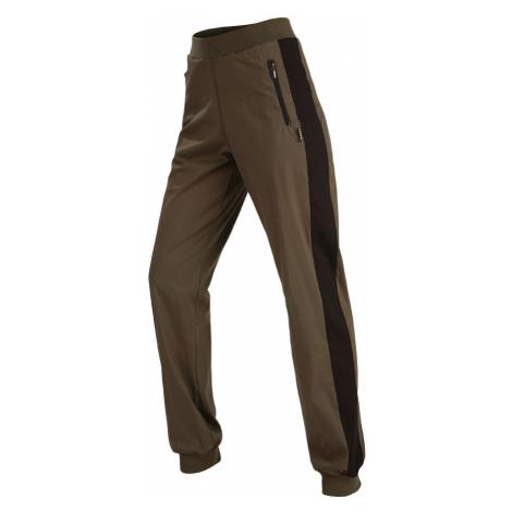 LITEX Kalhoty dámské dlouhé do pasu 58225630 Tmavě khaki