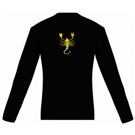 Pánské tričko dlouhý rukáv Štír