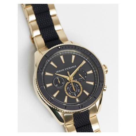 Armani Exchange Enzo black/gold bracelet watch