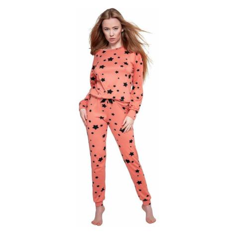 Dámské pyžamo My Way oranžové Sensis