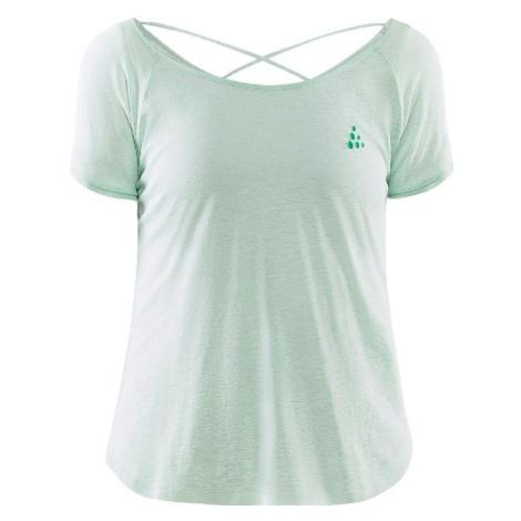 Dámské tričko CRAFT Core Charge Cross Back Light Green