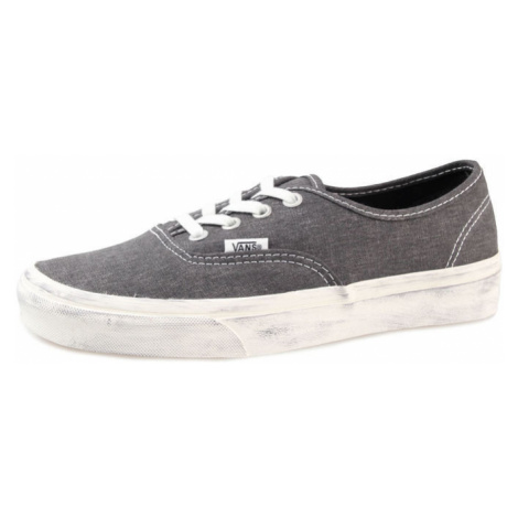 VANS Authentic (Overwashed) Šedá Bílá