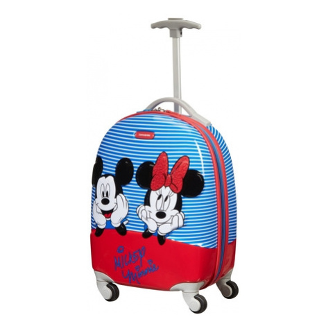SAMSONITE Kufr dětský Disney Ultimate 2.0 Spinner 46/32 Cabin Minnie/Mickey Stripes, 33 x 23 x 4