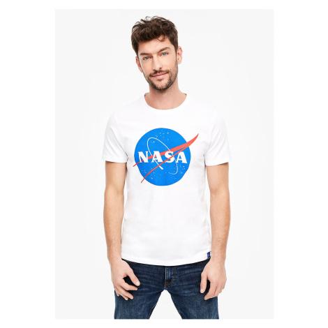 s.Oliver pánské triko s nápisem NASA 13.911.32.4339/0100