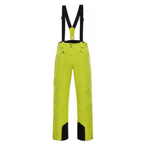 Dámské lyžařské kalhoty Alpine Pro MINNIE 4 - reflexní žlutá