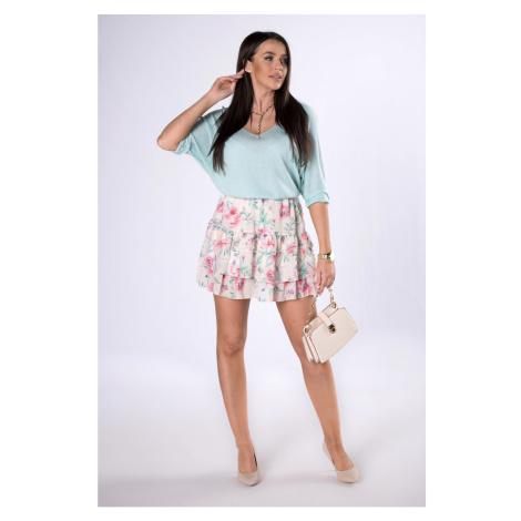 chiffon mini skirt Ptakmoda