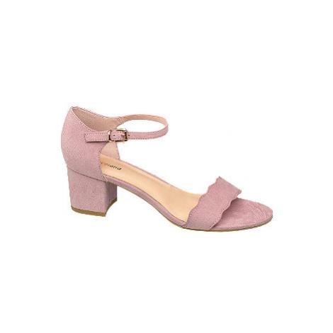 Sandály na podpatku Graceland