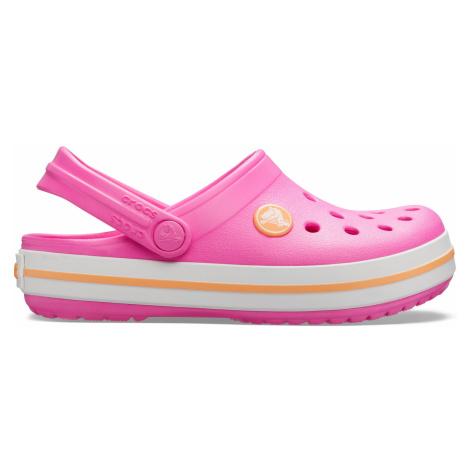 Crocs Crocband Clog K Electric Pink/Cantaloupe J1