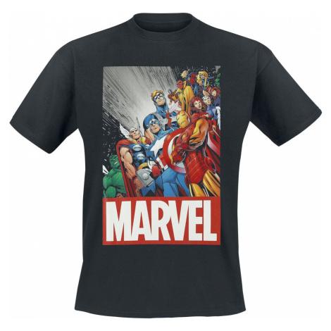 Marvel's The Avengers Classic Avengers Tričko černá